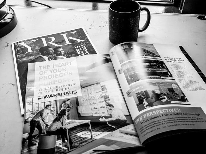 YRK Magazine Feature: Makers of York