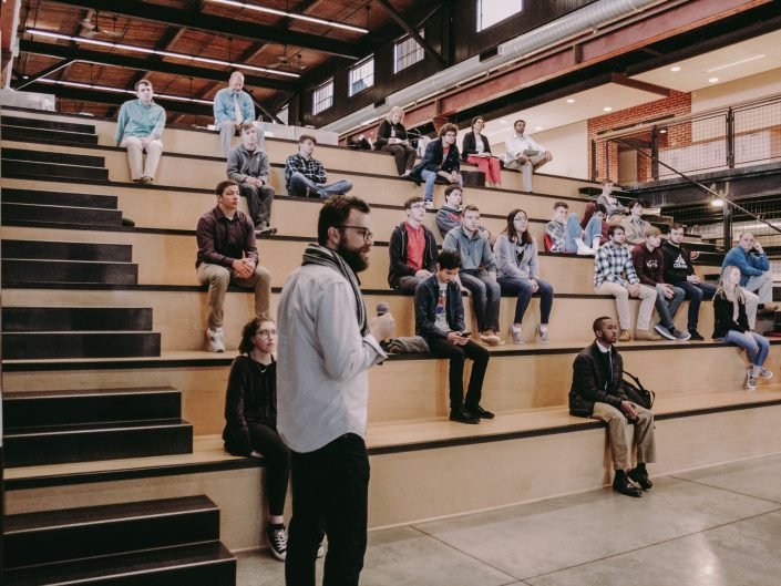 Future Architects and Engineers Visit Warehaus for Career Exploration